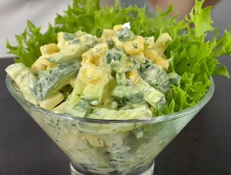 """Очень интересный салат """"Одесса"""""""