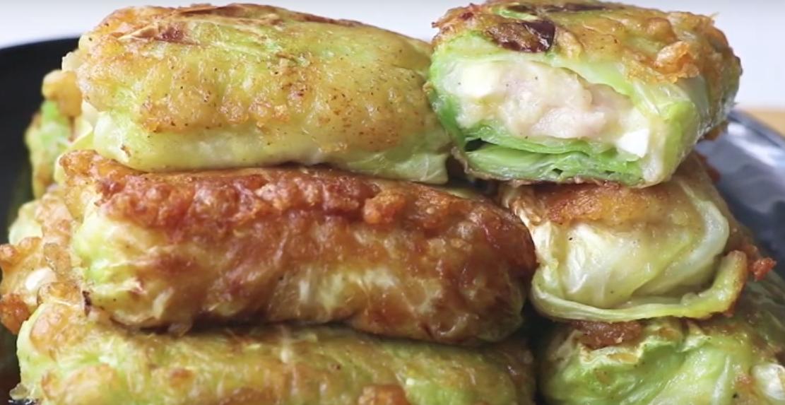 Вкусное и оригинальное блюдо - голубцы с картошкой