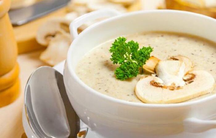 Вкуснейший крем-суп из шампиньонов