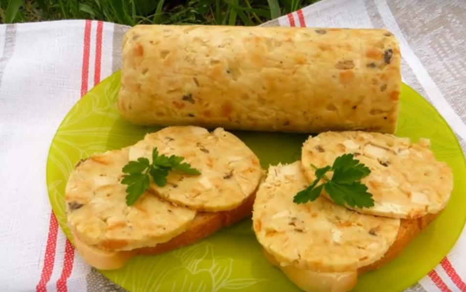 Необычный рецепт - колбаса из крошек