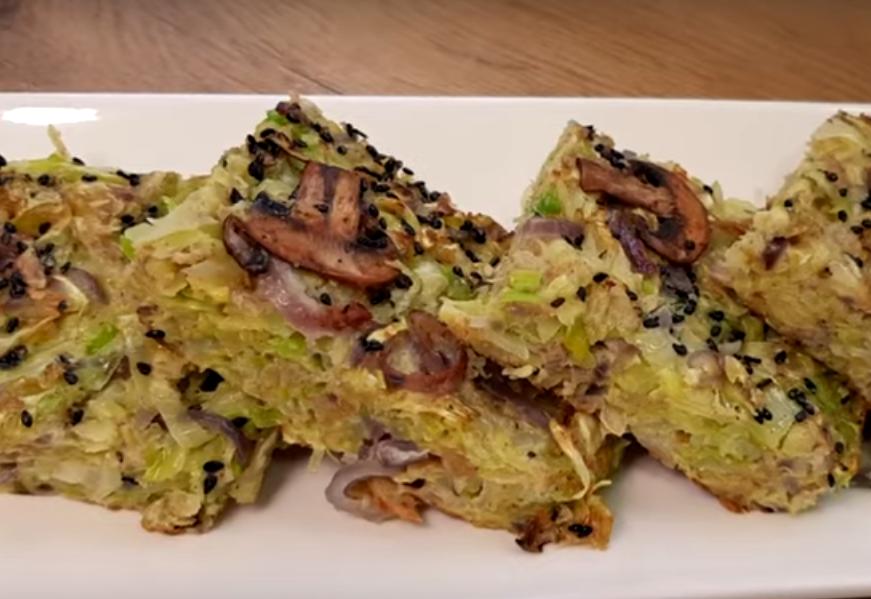Капустный омлет: идеальное блюдо к завтраку