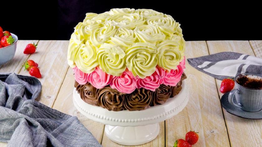 Неаполитанский трехцветный торт: бисквитный десерт для особого случая