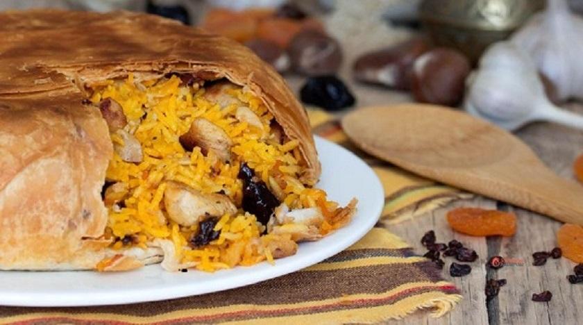 Плов в лаваше для новичков: вкус королевского блюда выше всяких похвал!