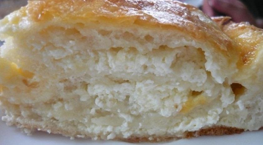 Пирог с творогом на скорую руку: и десерт, и завтрак, и быстрый перекус