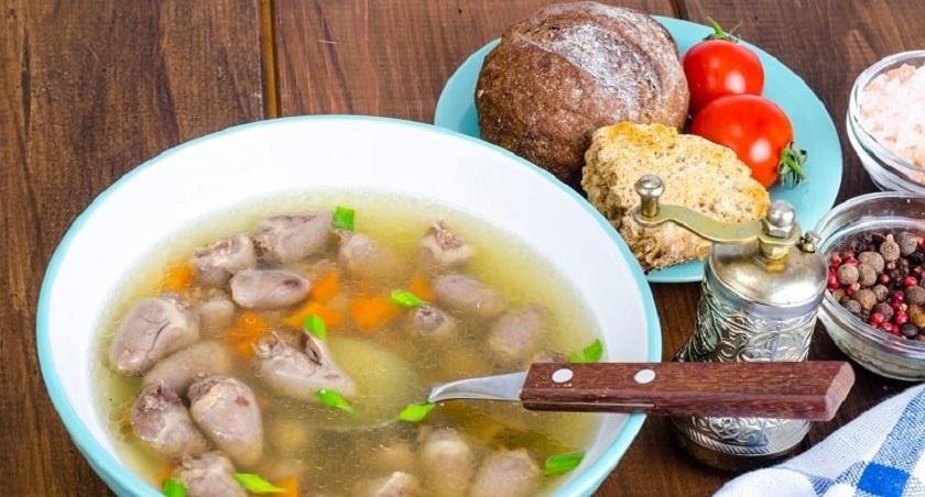 Вкусный суп из куриных сердечек: легкое блюдо для домашнего обеда