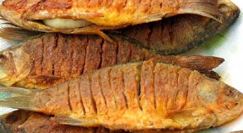 Фаршированные караси на сковороде: интересный вариант постного блюда