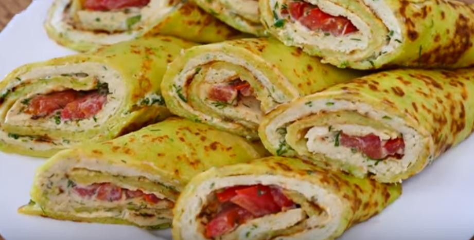 Ленивый бризоль: вкусное блюдо из кабачков и фарша