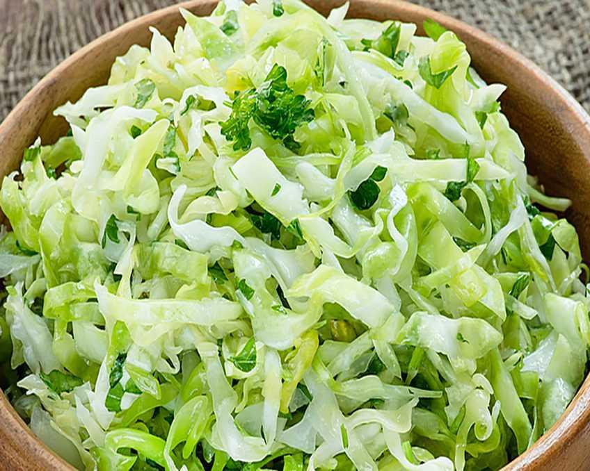 Особенный салат из капусты