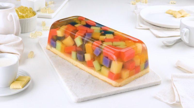 Десерт из жевательного мармелада: оригинальная красота своими руками