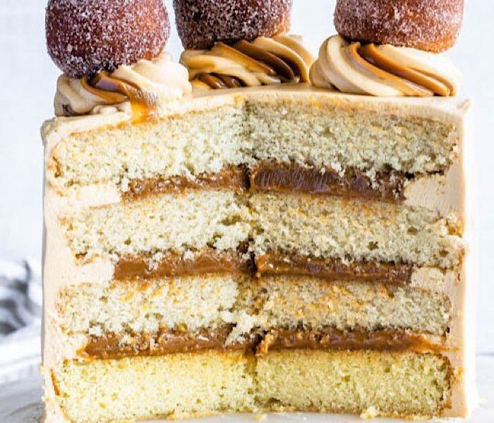 """Изумительно вкусный торт """"Дульсе де Лече"""""""