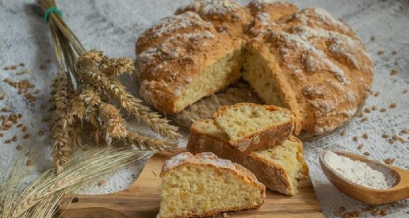 Домашний белый хлеб в духовке: с манкой и арахисом
