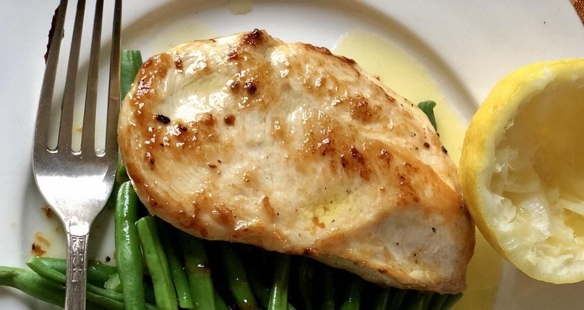Куриные грудки в лимонном соусе: нежные и сочные