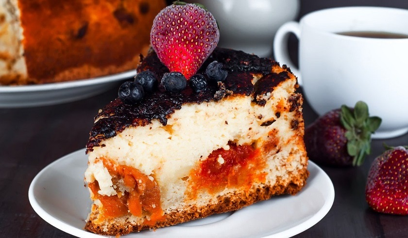 Пирог с творогом и вареньем: или что быстро приготовить на десерт