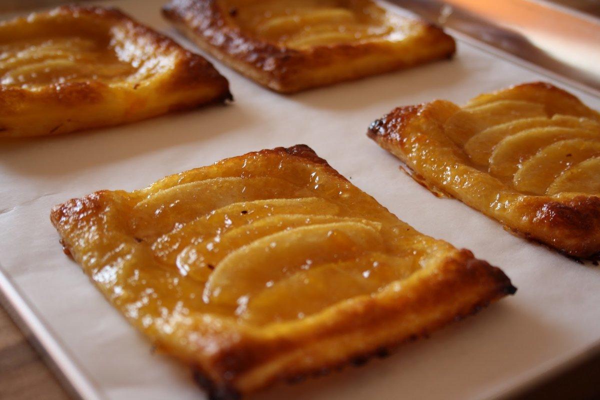 Вкуснейшие слойки с яблоками