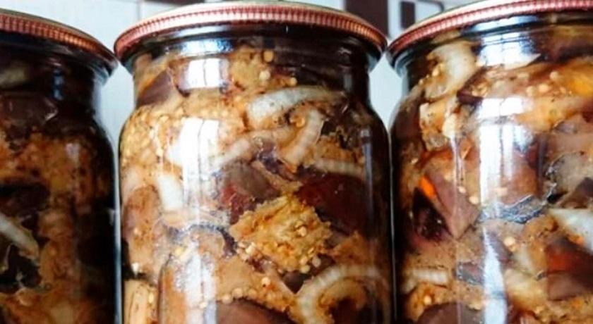 Баклажаны с чесноком: заготовка на зиму по проверенному рецепту