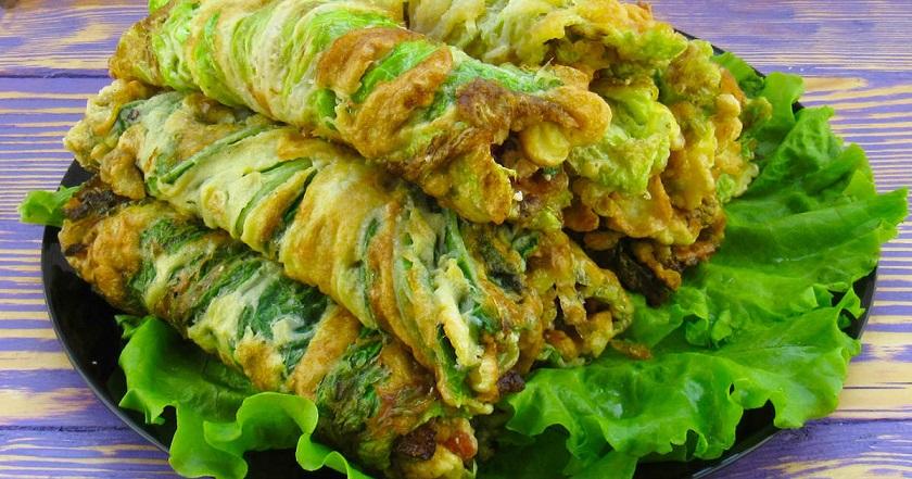 Рулетики из пекинской капусты с сыром: замечательная закуска для будней и праздников