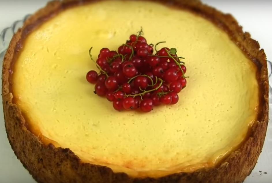 Потрясающе вкусный сметанный пирог