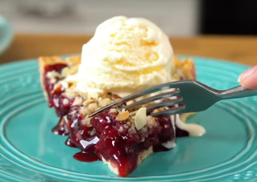 Бесподобный вишневый тарт