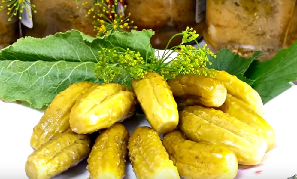 Восхитительные огурцы с горчицей