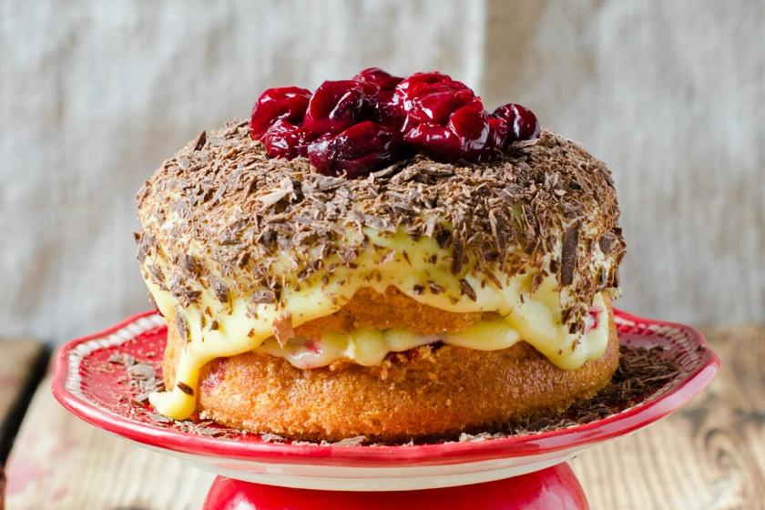 Вишневый пирог «Наслаждение»: нежный и ароматный десерт к вашему столу