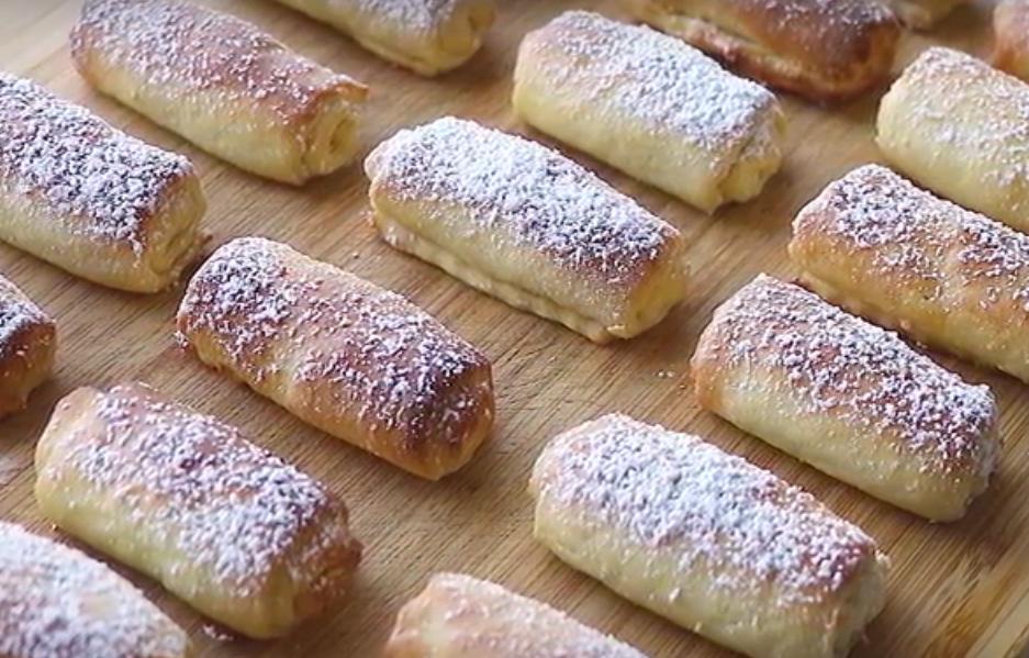 Нежное и мягкое творожное печенье с орехами