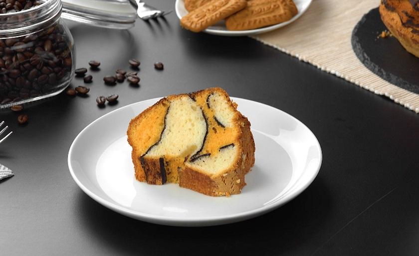 Бисквитный кекс «Волны»: простой рецепт вкусного десерта