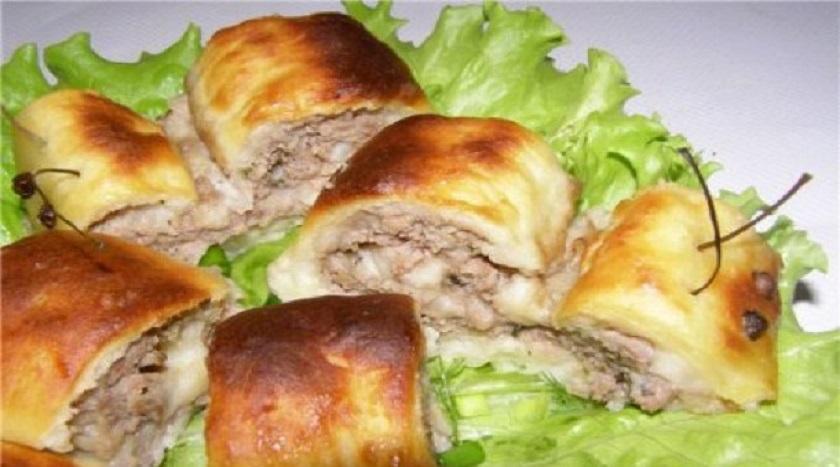 Картофельные улитки с мясом: блюдо из популярного корнеплода
