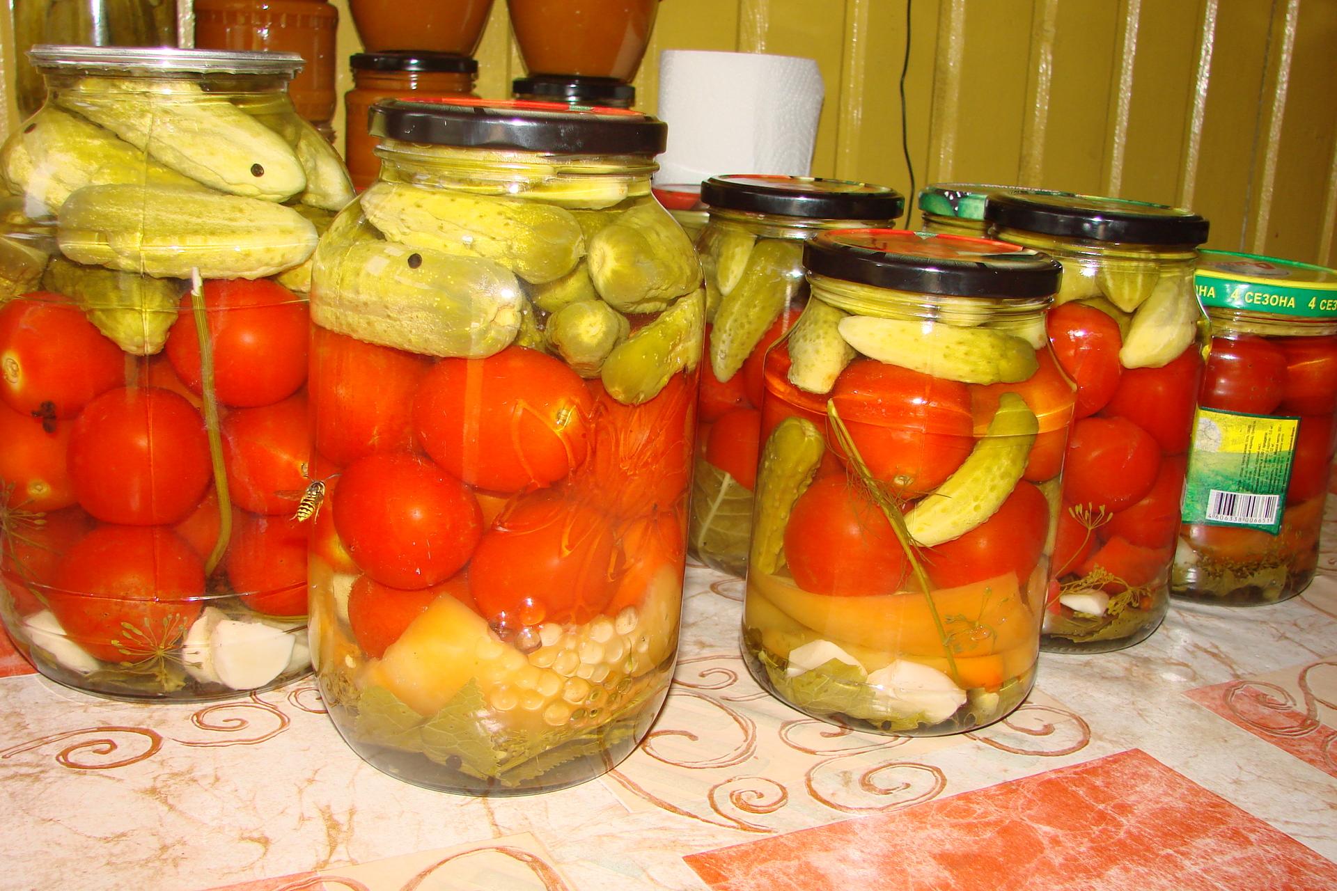 Овощное ассорти на зиму: делаем заготовки