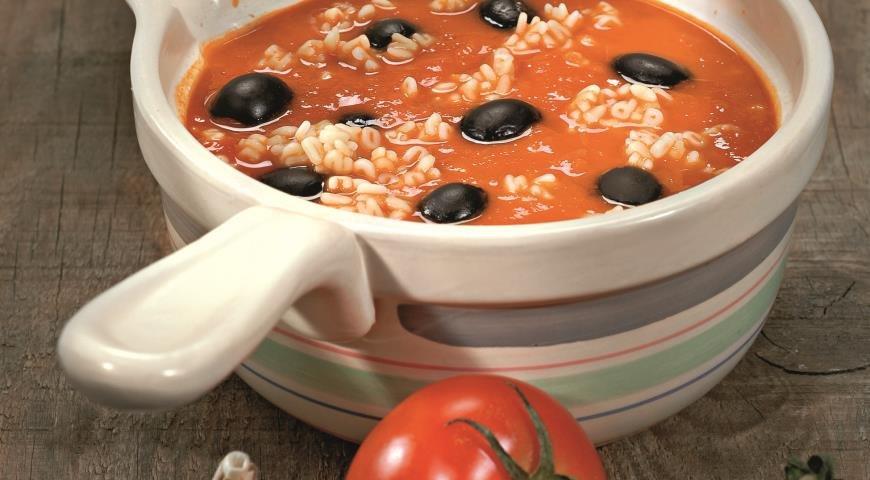 Аппетитный летний суп из помидоров