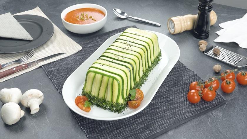 Овощной террин с грибным соусом: простое летнее угощение