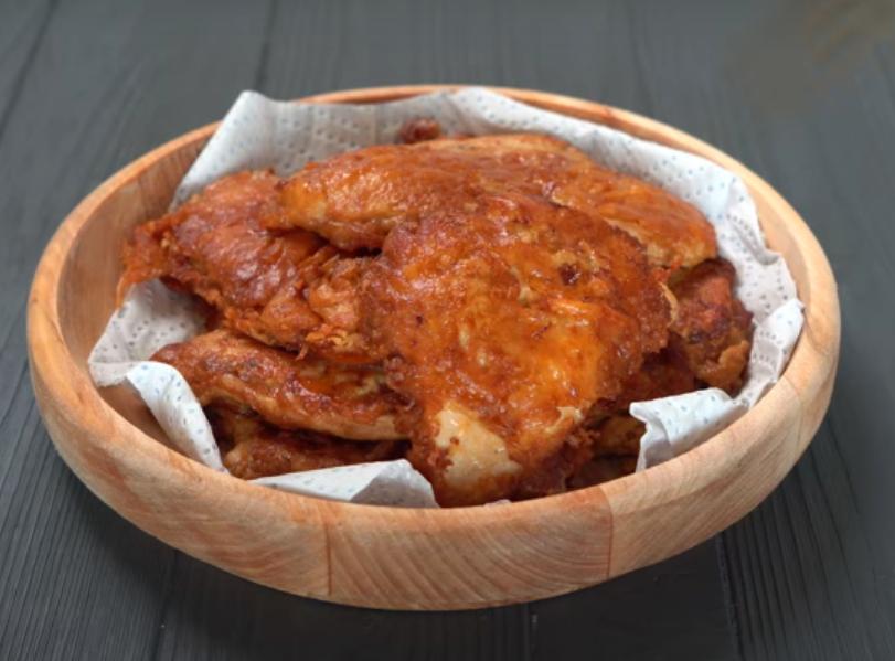 Сочное куриное филе в сырной панировке