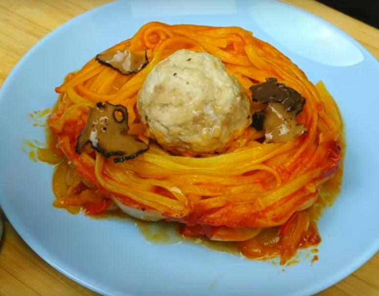 Отличное блюдо к обеду: гнезда из макарон