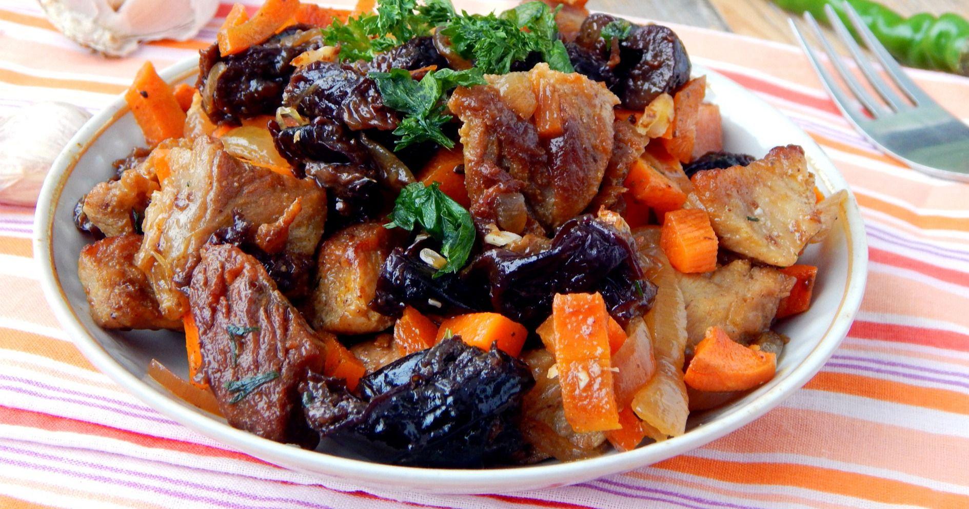 Необычайно вкусная говядина с черносливом