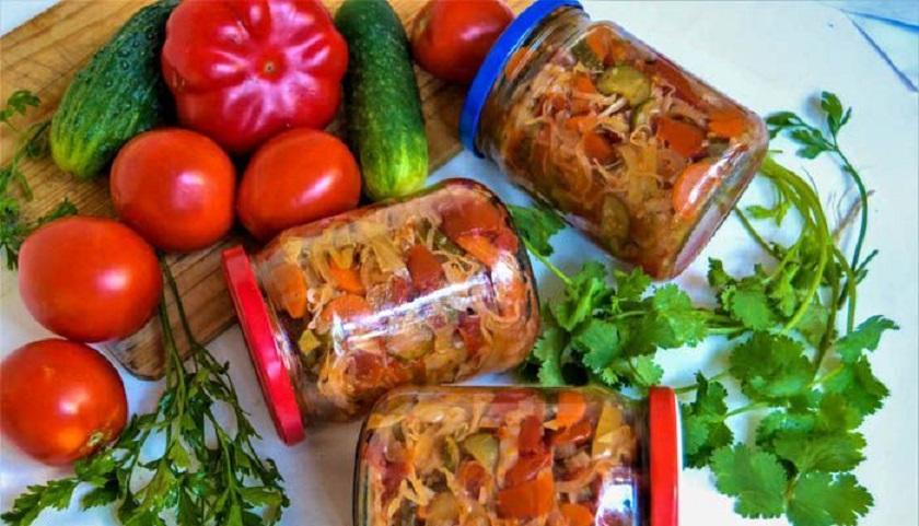 Салат «Охотничий»: закрываем на зиму сочную закуску