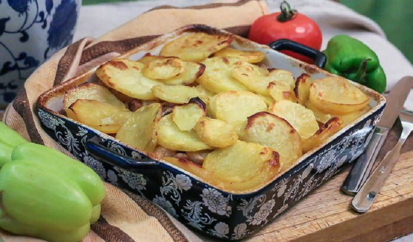 Свинина с картофелем в пиве: запеченное блюдо из духовки