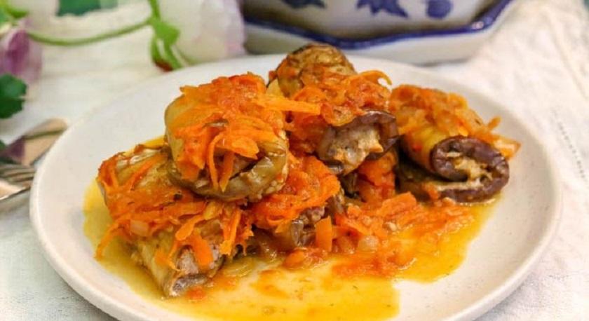 Рулетики из баклажанов с мясом: еще один интересный рецепт