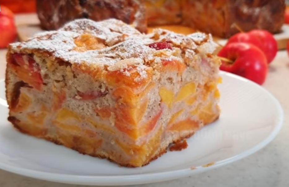 Самый вкусный и мега яблочный пирог