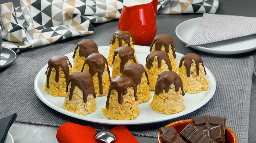 Тертое печенье «Башенки» со сгущенкой: простой десерт на каждый день