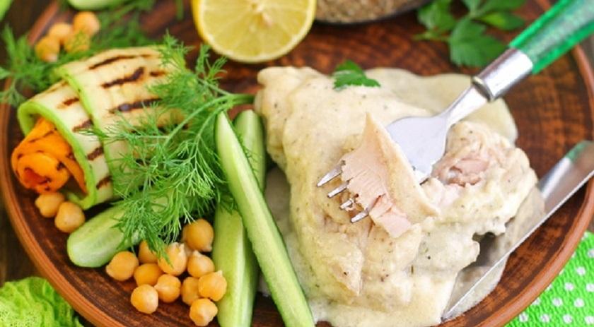Курица в сырном соусе «Птичье молоко»: буквально тает во рту