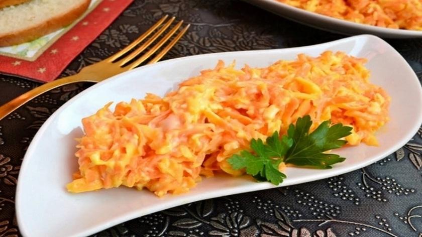 Салат из моркови и сыра: простой, но невероятно вкусный