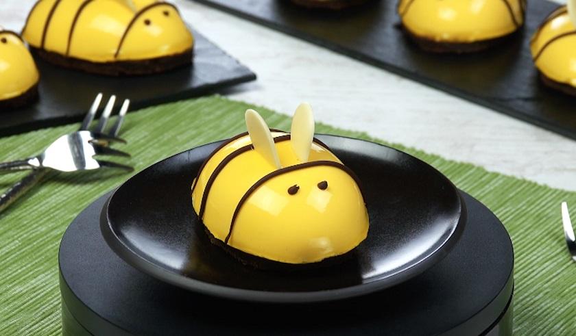 Нежные пирожные «Медовые пчелки»: с кремом и шоколадным тестом
