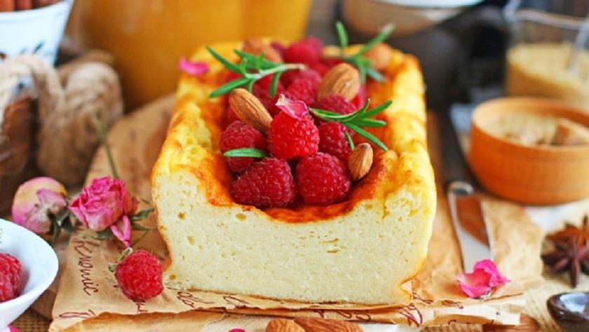 Нежный творожный пирог-пудинг: с запеканкой не сравнится