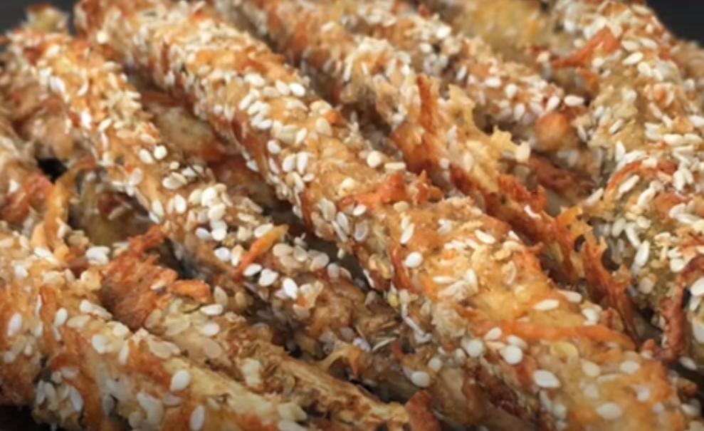 Вкуснейшие кунжутные палочки для перекуса