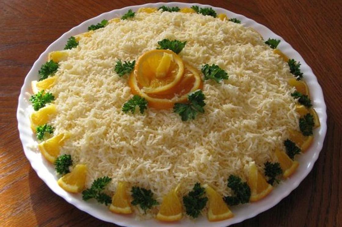 Салат по-деревенски: блюдо к празднику