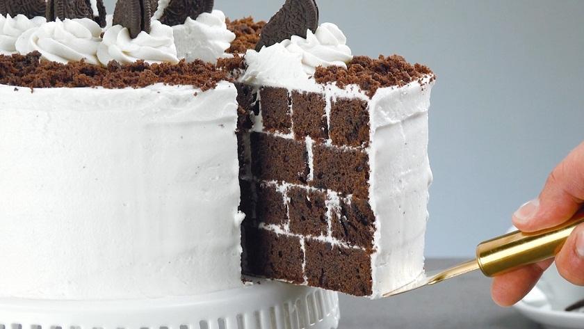 Роскошный шоколадный торт с печеньем: и бесподобный сливочный крем