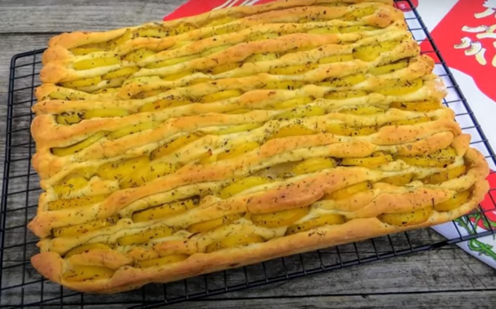 Необычный картофельный хлеб