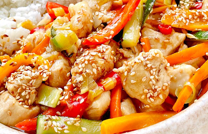 Бесподобная курица по-китайски