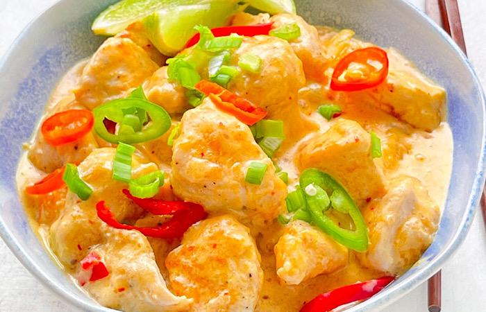 Вкуснейшая курица по-тайски
