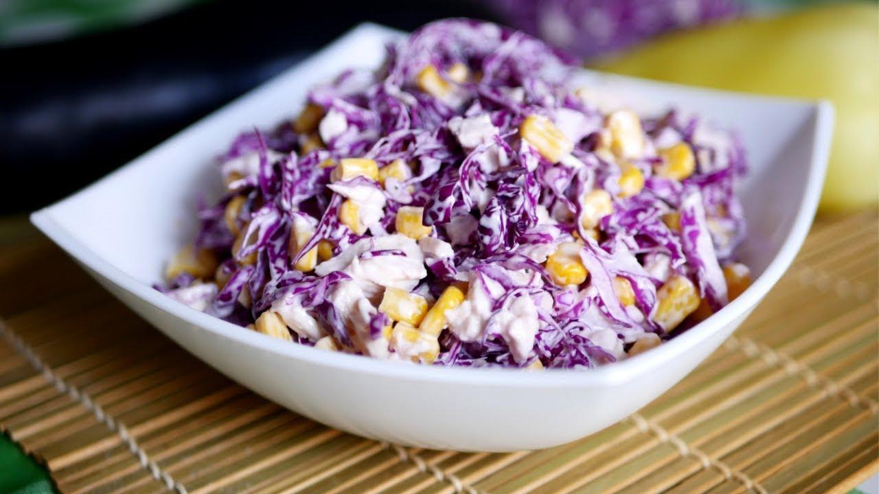 """Салат """"Мальвина"""": просто и вкусно"""