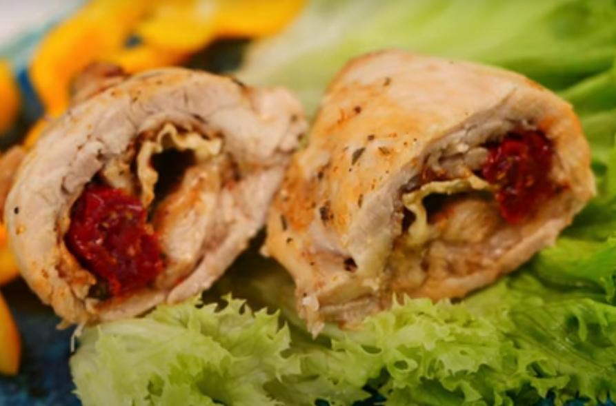 Шикарное мясное блюдо к праздничному столу